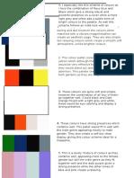 Colour & Font Examples