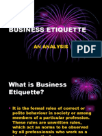 PPT Etiquette