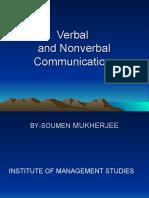 PPT-Verbal & Non Verbal