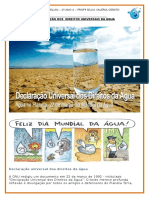 Declaração Universal Dos Direitos Da Água PARA ILUSTRAÇÃO