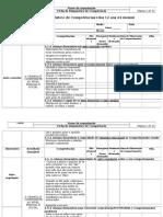Ficha de Diagnóstico de Competências Dos 1 Aos 2 Anos