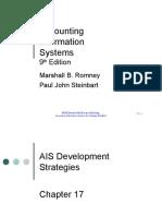 AIS17AIS Development Strategies