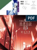 Toaru Majutsu No Index - Volume 13