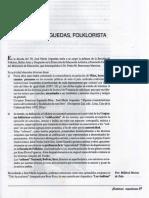 ARGUEDAS Y EL FOLKLORE. POR MILDRED MERINO DE ZELA
