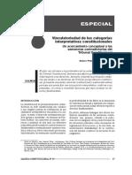 Vinculatoriedad de Las Categorías Interpretativas Constitucionales_un Acercamiento Conceptual a Las Sentencias Contradictorias Del Tc