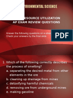 Resource Utilization Review Qs Ppt