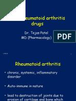 anti-rheumatoid arthritis drugs