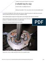 Bridgeport J Head Step Pulley Disassembly and Reassembly