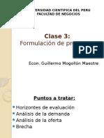 Clase 3 - Formulacion de Proyectos