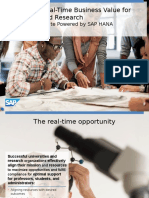 SAP Solutions for Higher Education & Research