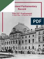 53 Parl Record - Full w Amend