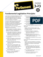 Factsheet 3.23 FundamentalLegislativePrinciples