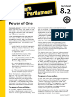 Factsheet 8.2 PowerOfOne