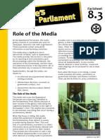 Factsheet 8.3 RoleOfTheMedia
