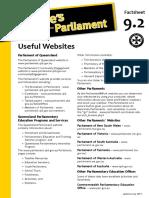Factsheet 9.2 UsefulWebsites