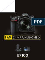 Nikon D7100 Specs