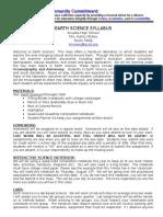 earth science syllabus 15-16 kmc  1
