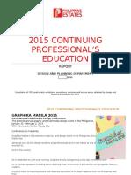 2015 CPE Report