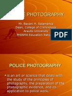 Police Photography Presentation