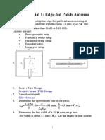 HFSS tutorial1