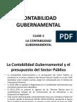 Clase 2 - Contabilidad Gubernamental A