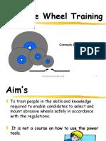 Abrasive Wheels Presentation