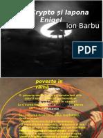 Ion Barbu prezentare