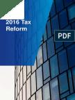 2016 Tax Reform