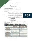 Tipos de Oraciones en lengua castellana