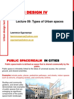 Types of Public Spaces