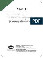Mudra institute of communication Question paper