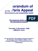 Memorandum of the Paris Appeal -2006