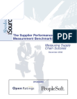Challenges to Effective Performance Measurement - Supply Chain Management