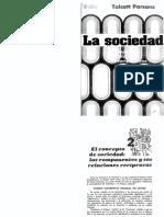 Parsons - La Sociedad