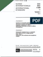 IEC 61109 Composite Insulator