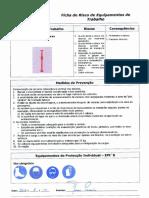 Ficha de Risco - Escoras Tubulares