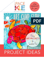Art Camp Guide Project Ideas