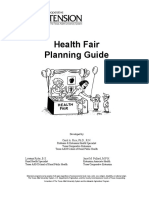 Health Fair Planning Guide