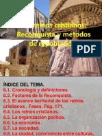 Reconquista y repoblación en los reinos cristianos peninsulares