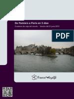 Ruta de 3 dílas de Pamiers a París
