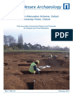 Rainwater Attenuation Scheme, Oxford University Parks, Oxford, Oxfordshire