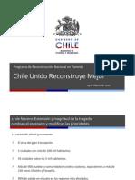 Programa de Reconstruccion Nacional en Vivienda Prensa
