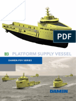 Executive Summary Platform Supply Vessel