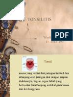 Ppt Ref Tonsil Wnd