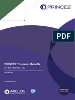 8874 WP PRINCE2 Business Benefits