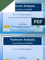 Pushover Analysis using ETABS and SAP2000