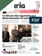 015. Geuria aldizkaria - 2016 urtarrila