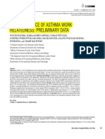 8 - The Prevalence of Asthma Work Relatedness