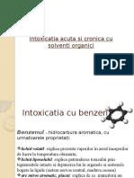 Intoxicatia Acuta Si Cronica Cu Solventi Organici
