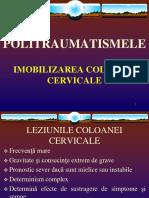 iMOBILIZAREA COLOANEI CERVICALE